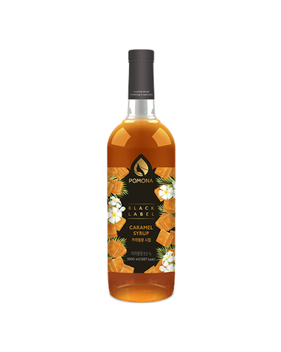 Pomona Caramel Syrup 1000ml (Black Label)