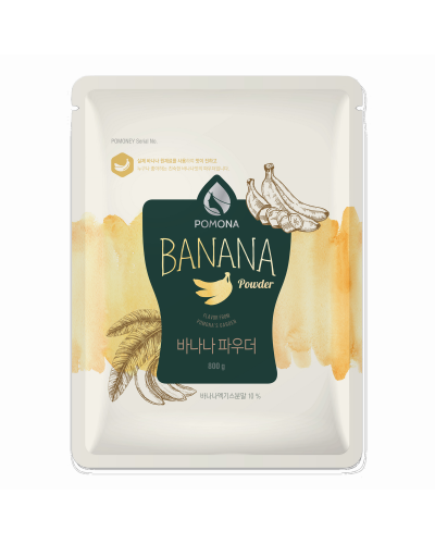 Pomona Banana Powder 800g