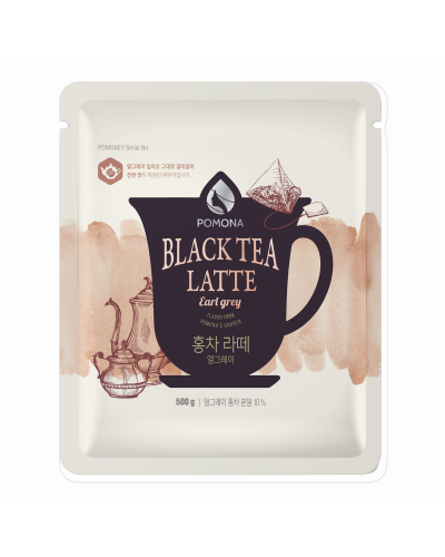 Pomona Black Tea Latte Earl Grey Powder 500g