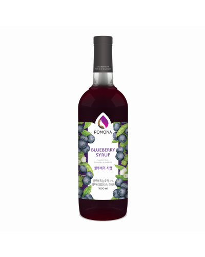 Pomona Blueberry Syrup 1000ml
