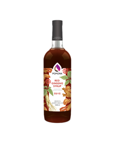Pomona Red Ginseng Syrup 1000ml