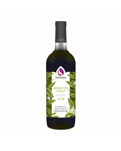 Pomona Green Tea Syrup 1000ml