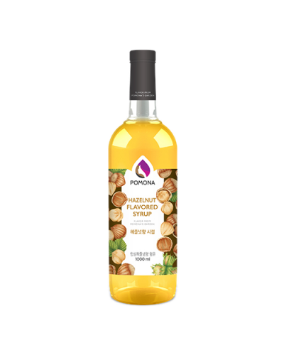 Pomona Hazelnut Syrup 1000ml