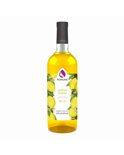 Pomona Lemon Syrup 1000ml