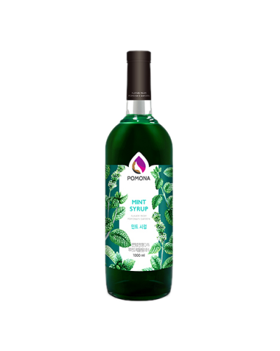 Pomona Mint Syrup 1000ml