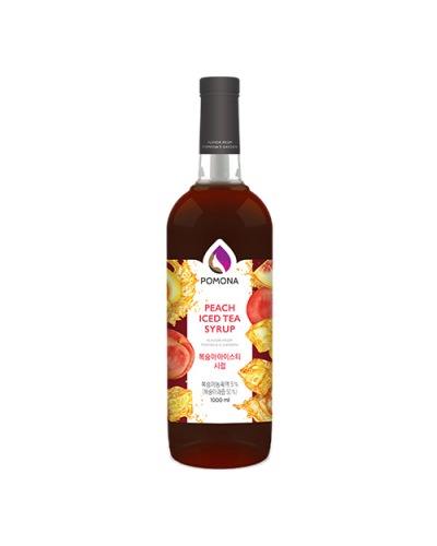 Pomona Peach Iced Tea Syrup 1000ml