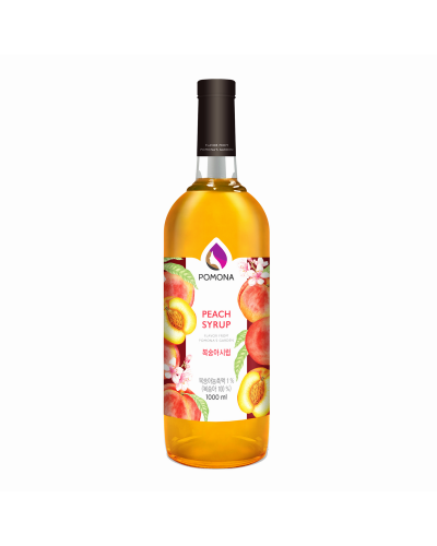 Pomona Peach Syrup 1000ml