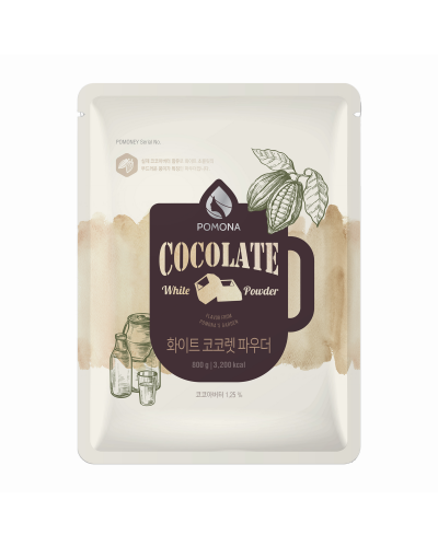 Pomona White Cocolate Powder 800g